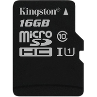 Kingston Canvas Select SDCS/16GBSP microSDHC 16GB