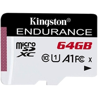 Kingston High Endurance microSDXC 64GB