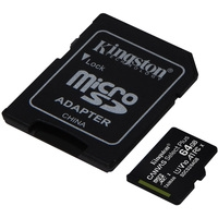 Kingston Canvas Select Plus microSDXC 64GB (с адаптером) Image #2