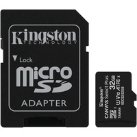 Kingston Canvas Select Plus microSDHC 32GB (с адаптером)