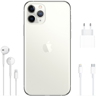 Apple iPhone 11 Pro 64GB (серебристый) Image #4