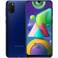 Samsung Galaxy M21 SM-M215F/DS 4GB/64GB (синий) Image #1