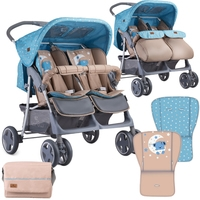 Lorelli Twin 2019 (blue&beige moon bear)