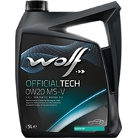 Wolf OfficialTech 0W-20 MS-V 5л