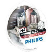 Philips H4 VisionPlus 2шт [12342VPS2]
