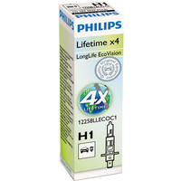 Philips H1 LongLife EcoVision 1шт [12258LLECOC1]