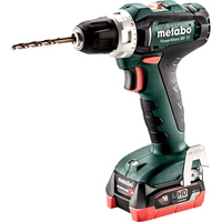Metabo PowerMaxx BS 12 601036800 (с 2-мя АКБ 4 Ah, кейс)