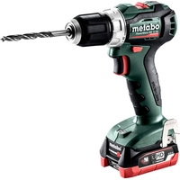 Metabo PowerMaxx BS 12 BL 601038800 (с 2-мя АКБ 4 Ah, кейс)
