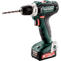 Metabo PowerMaxx BS 12 601036500 (с 2-мя АКБ 2 Ah, кейс)