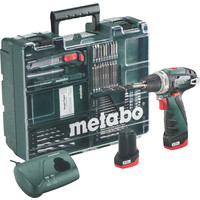 Metabo PowerMaxx BS Basic Set 600080880 (с 2-мя АКБ, набор инструмента)