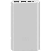 Xiaomi Mi Power Bank 3 PLM13ZM 10000mAh (серебристый)