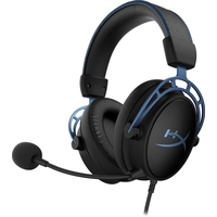 HyperX Cloud Alpha S (черный/синий)