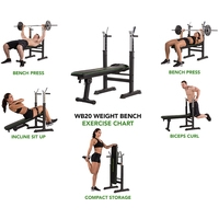 Tunturi Weight bench WB20 Image #4