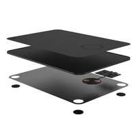 Xiaomi MIIIW Wireless Charging Mouse Pad (M07) Черный Image #3