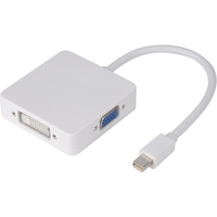 USBTOP mini DisplayPort – HDMI/VGA/DVI