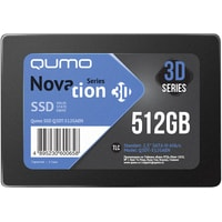 QUMO Novation 3D TLC 512GB Q3DT-480GAEN