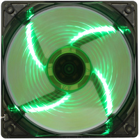 GameMax WindForce 4x Green LED (120 мм) [GMX-WF12G]