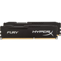 HyperX Fury Black 2x8GB KIT DDR3 PC3-10600 HX313C9FBK2/16