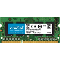 Crucial 16GB DDR3 SODIMM PC3-12800 CT204864BF160B