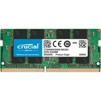 Crucial 8GB DDR4 SODIMM PC4-25600 CT8G4SFS832A